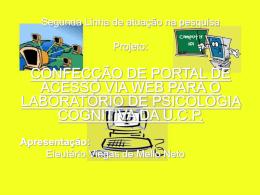 Slide 1 - MESTRADO EM PSICOLOGIA UCP