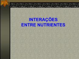 10 - Nutricao de Plantas