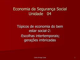 taxa social de actualização