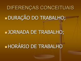 DIFERENÇAS CONCEITUAIS