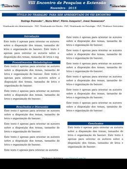 Slide 1 - Faculdade Luciano Feijão