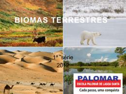 Os biomas terrestres - Escola Palomar de Lagoa Santa