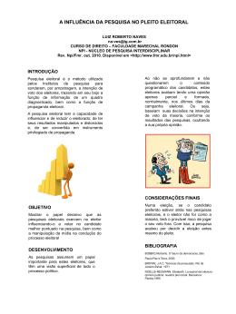 A-INFLUENCIA-DA-PESQUISA-NO-PLEITO