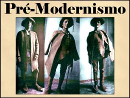 pre modernismo