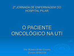 O Paciente Oncológico na UTI