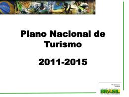 Apresentação PNT 2011