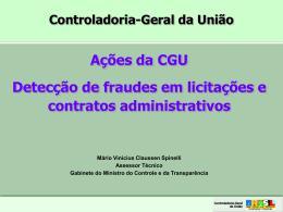 Apresentação: Fraude em licitações