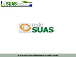 Rede SUAS - Portal do Software Público Brasileiro