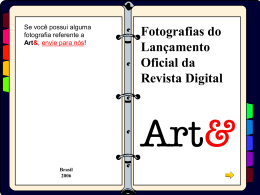 Slide 1 - Revista Digital Art
