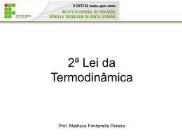 2ª Lei termodinamica