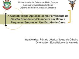 palestra sobre contabilidade gerencial em micro e pequenas
