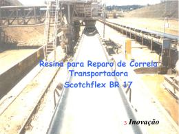 Resina para Reparo de Correia Transportadora Scotchflex BR 17