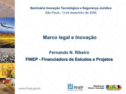 Marco legal e Inovação