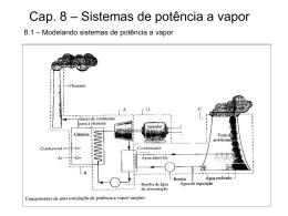 Cap_tulo 8 - Pot_ncia Vapor