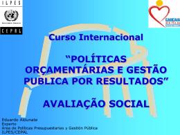 AVALIAÇÃO SOCIAL
