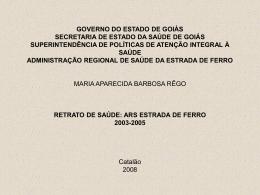 Descrição - Estado de Goiás