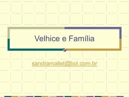 Velhice e Família
