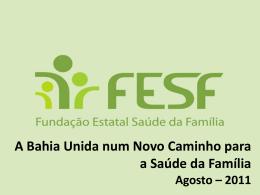 Fundação Estatal Saúde da Família