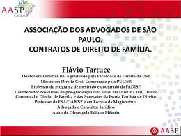 palestra. aasp. contratos de direito de família.