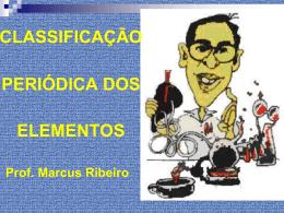 TABELA PERIÓDICA - Prof Marcus Ribeiro
