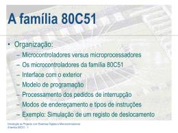 A Família 80C51