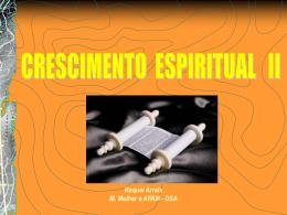 Crescimento Espiritual II - Bem vindo a www.neemias.info