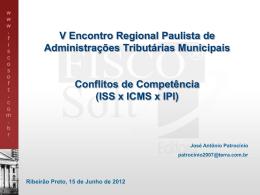 Conflitos ISS IPIS ICMS