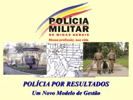 polícia por resultados - Secretaria de Defesa Social