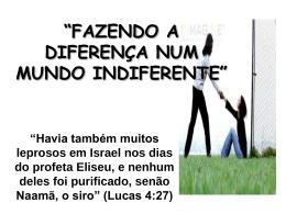 Slide 1 - Igreja Batista em Sousas