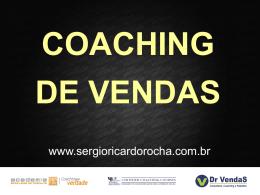 coaching de vendas - Sergio Ricardo Rocha