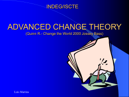 advanced change theory