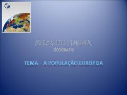 ATLAS DE TURMA PORTFÓLIO