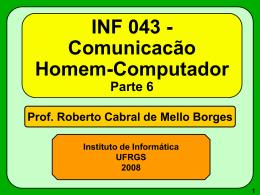 INF 043 - Comunicacão Homem