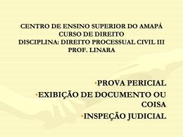 centro de ensino superior do amapá curso de direito disciplina