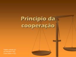 Princípio da cooperação e processo adversarial