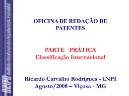 Parte Prática - Classificação Internacional