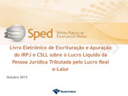 ECD + e-Lalur (Partes A e B)