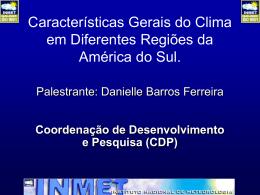 Danielle_Caracteristicas Gerais do Clima AS