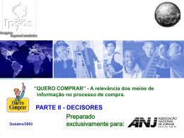 DECISORES - Outubro/2003