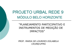 PROJETO URBAL REDE 9