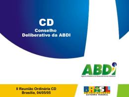 Apresentação - Planejamento Estratégico ABDI