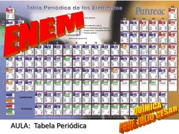 A Tabela Periódica