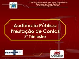 prestacao_contas_3ºtri2009 - Prefeitura Municipal de Cachoeiro de