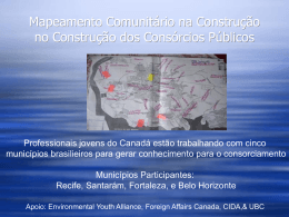 Community Mapping in Consortia Building