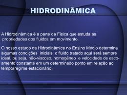 HIDRODINÂMICA - Física Com Abud