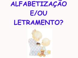 1.Alfabetizacao e Letramento