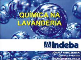 Jonatã Nienczewski/INDEBA – Química na Lavanderia