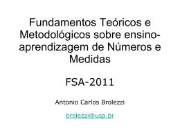 Apresentação 2 - Antonio Carlos Brolezzi