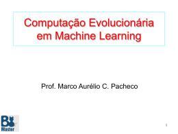 Computação Evolucionária em Machine Learning