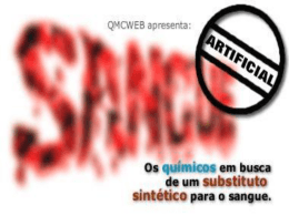 Sangue artificial